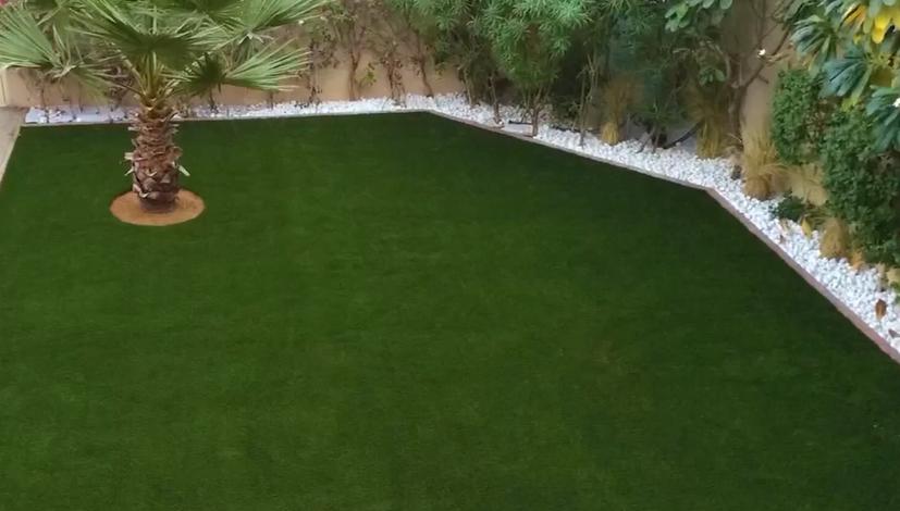 景观绿化人造草坪劲草铺装案例图七