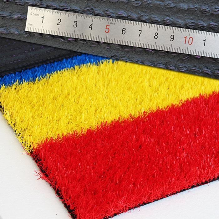 幼儿园专用彩虹跑道人造草坪YH38-25143