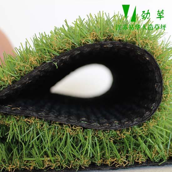 人造草坪侧面图