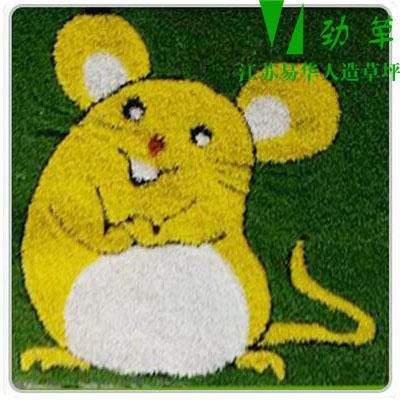 幼儿园卡通图案十二生肖之鼠