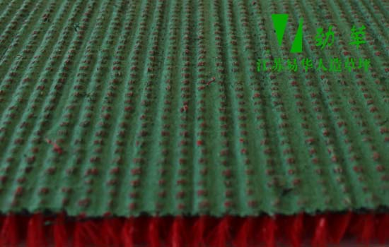 商业专用红色人造草坪鲜红色人工草坪YHYH532-3407地背图