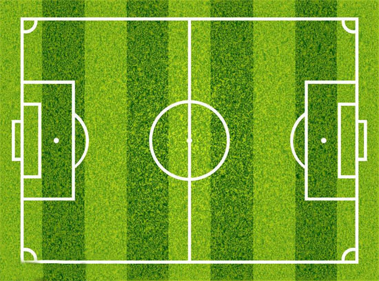 标准足球场地