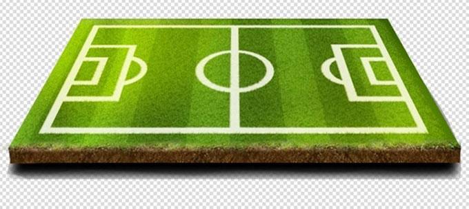 人造草坪足球场示意图